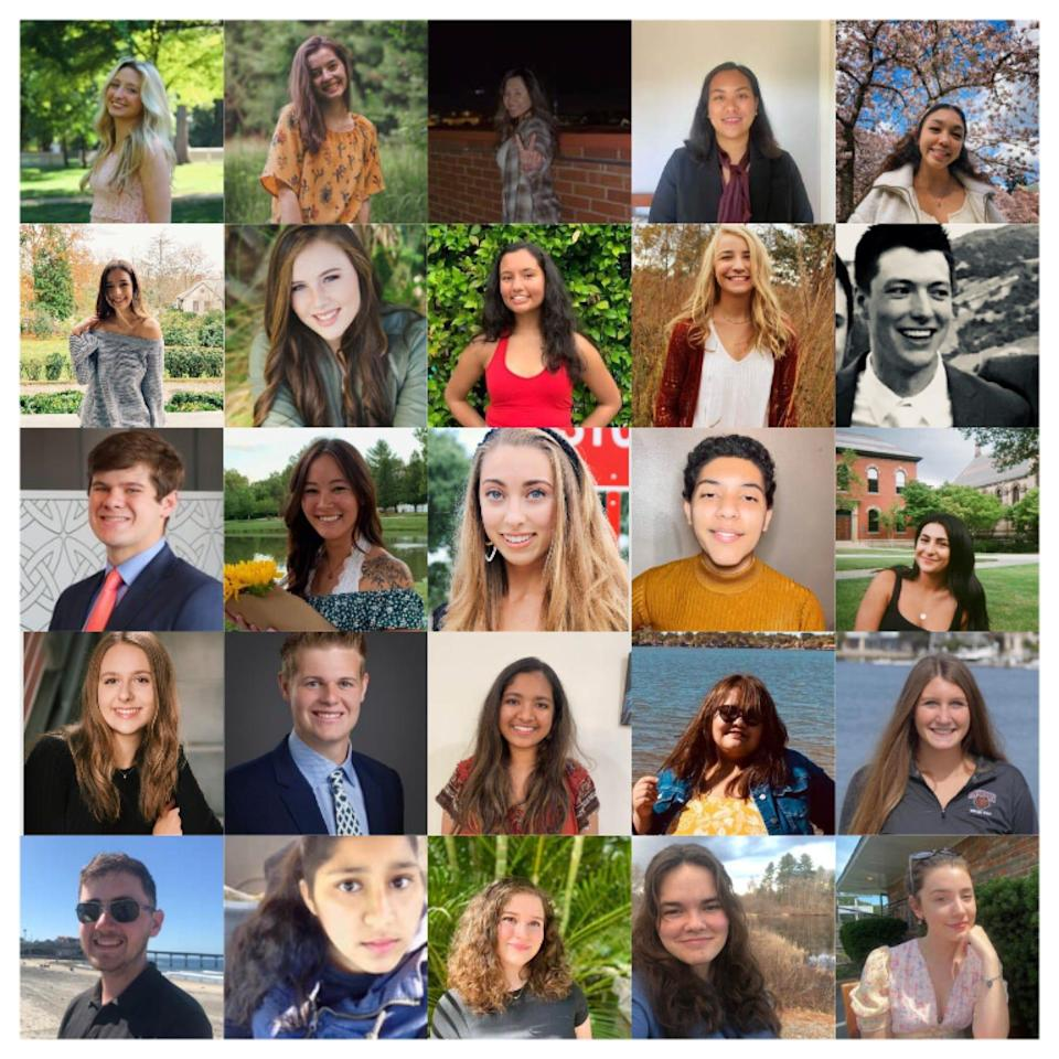 The student ambassadors of the COVID Campus Coalition span 23 universities across the country.