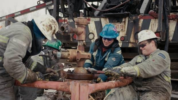 The job of cleaning up orphan wells, there are thousands across the western provinces, is underway. (CBC - image credit)