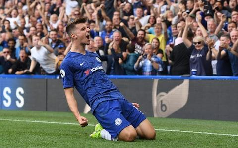 Mason Mount has made a hugely encouraging start to life as a Chelsea first-teamer - Credit: REX