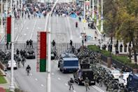 Opposition demonstrations have been taking place in Belarus since a disputed August election