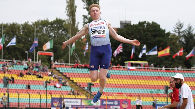Skinner will also compete in the 100m in Berlin. Pic: Ben Booth Photography
