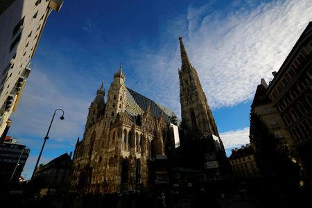FILE PHOTO: St. Stephen's cathedral (Stephansdom) is pictured in Vienna, Austria, November 28, 2016.   REUTERS/Leonhard Foeger/File Photo