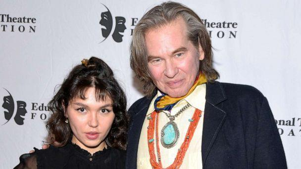 PHOTO:Actors Mercedes Kilmer and Val Kilmer attend the 2019 annual Thespians Go Hollywood Gala at Avalon Hollywood on Nov. 18, 2019 in Los Angeles. (Michael Tullberg/Getty Images, FILE)