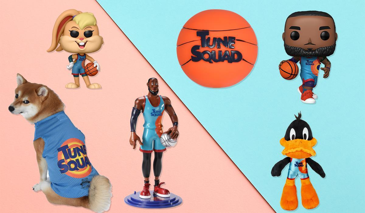 Space Jam: A New Legacy boasts a collectibles bonanza that harkens back to '90s blockbusters (Photo: Walmart)