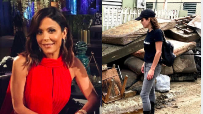 Bethenny Frankel Sends Four Planes To Puerto Rico For Hurricane Relief