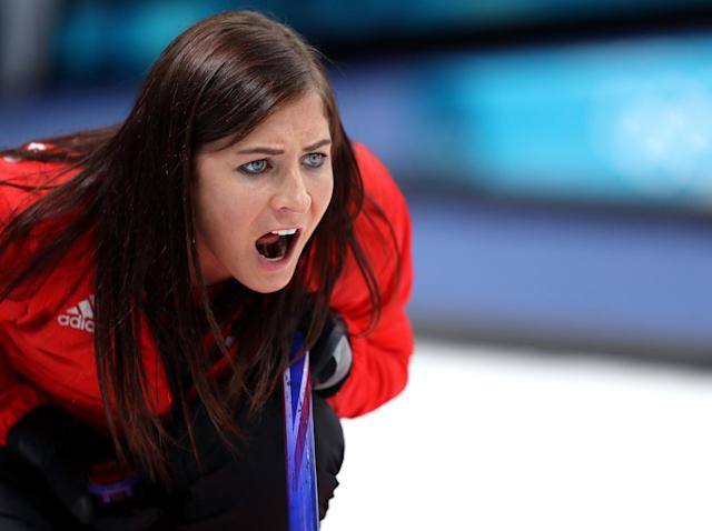Eve Muirhead directed her team to victory over Switzerland: Getty Images