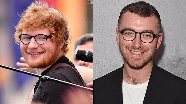 "Sam Smith's latest single is ""Too Good At Goodbyes,"" but he's also good at defending his friend, Ed Sheeran."