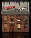 <p>Hell's Kitchen meets Hot Wheels in this set which features character cars based on the heroes of Marvel's acclaimed Netflix series. Housed in an acrylic case, the set includes accent lights and art by illustrator Alex Maleev. ($30)<br></p>