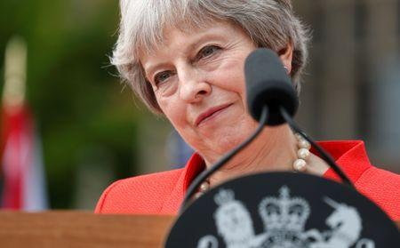 Britain's EU referendum was legitimate, says PM May's…