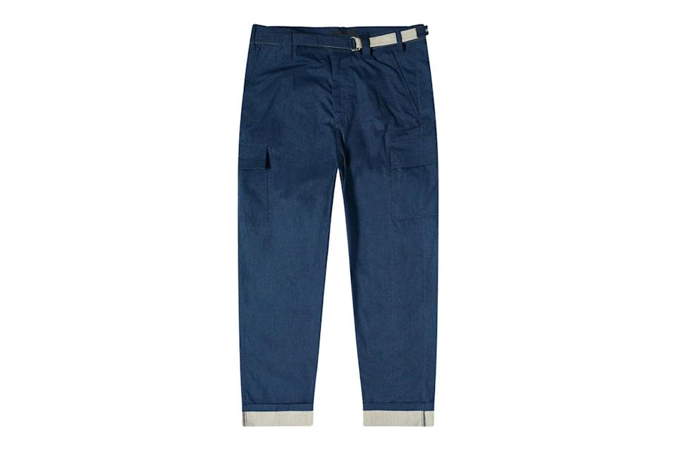 """$519, End Clothing. <a href=""""https://www.endclothing.com/us/craig-green-cargo-utility-trouser-cgaw20cwotrs06-ny.html"""" rel=""""nofollow noopener"""" target=""""_blank"""" data-ylk=""""slk:Get it now!"""" class=""""link rapid-noclick-resp"""">Get it now!</a>"""