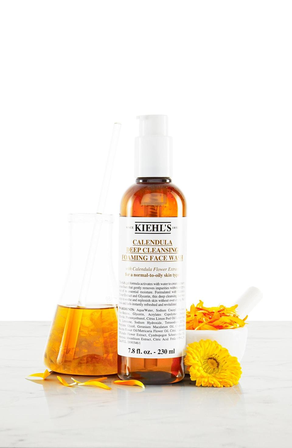 <p><span>Kiehl's Calendula Deep Cleansing Foaming Face Wash for Normal-to-Oily Skin</span> ($13-$42, originally $16-$52)</p>