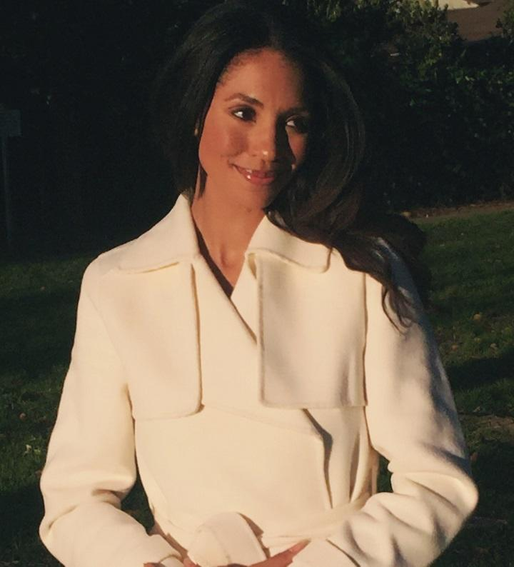 Meghan Markle lookalike from Mirror Images