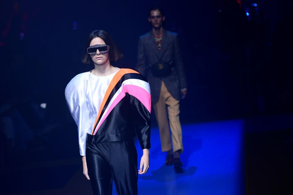 Gucci's SS18 collection, shown in September, was its first fur-free outing [Photo: Getty]