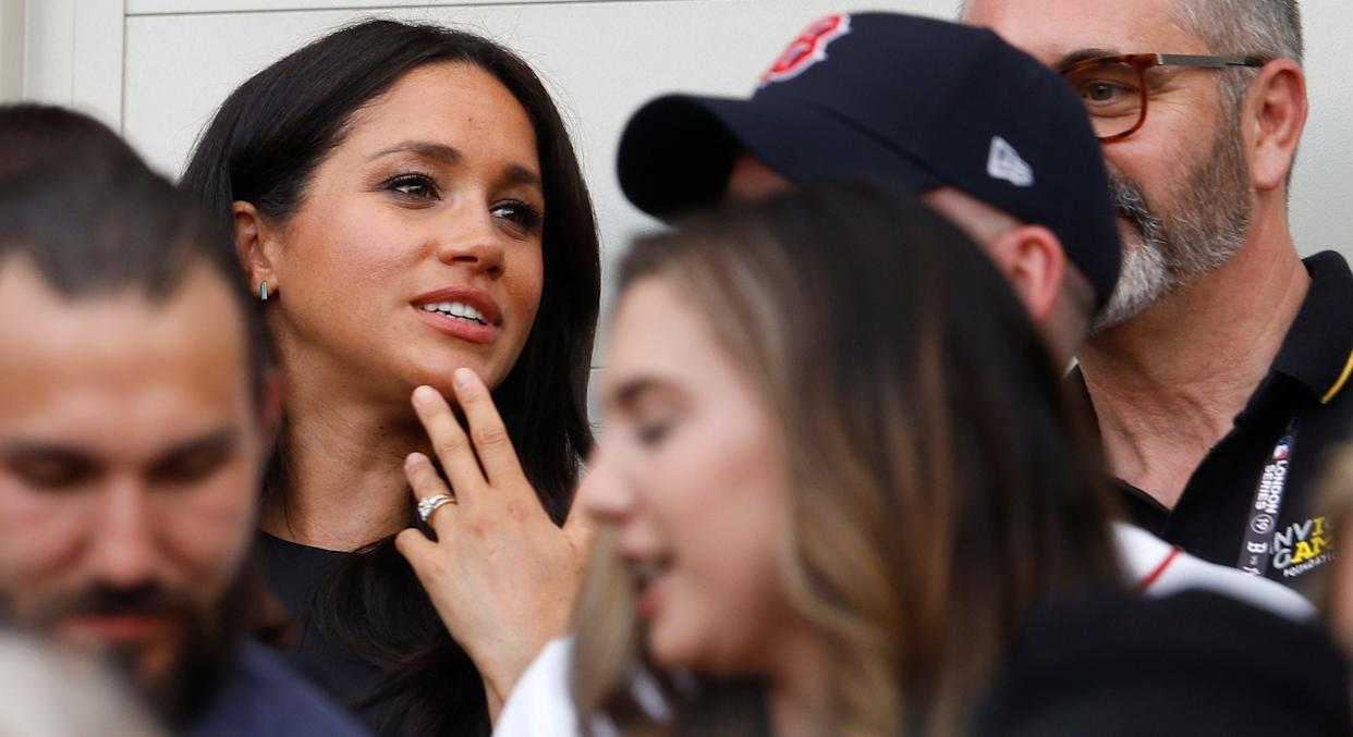 Meghan Markle's new eternity ring has a beautiful meaning behind it [Image: Getty]