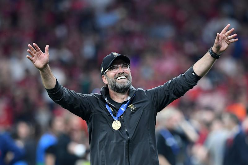 Klopp's contract expires in 2022. (Credit: Getty Images)