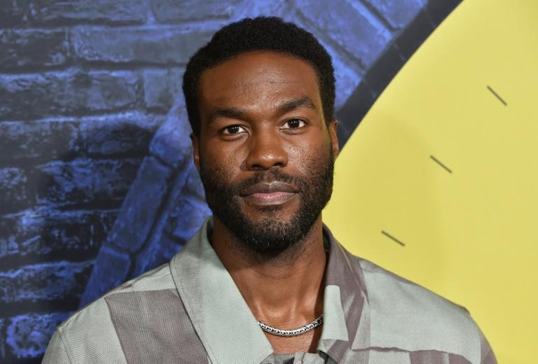 """US actor Yahya Abdul-Mateen II also won an Emmy for his work on """"Watchmen"""""""