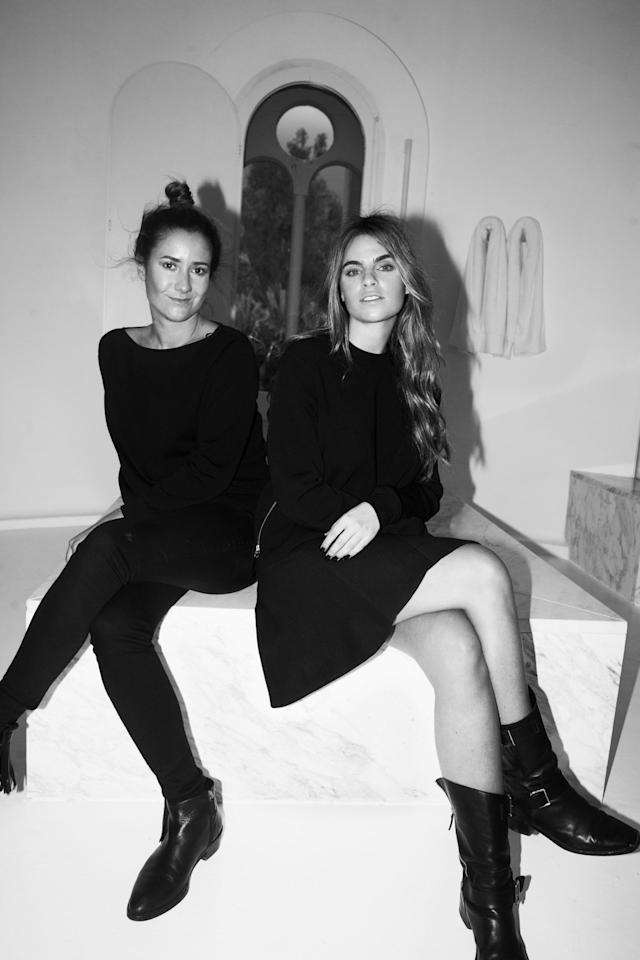 """<p>Designers Melissa Losada Bofill and Marcela Velez met in NYC in the late '90s and established their brand,<a href=""""http://www.m2malletier.com/"""">M2Mailletier</a>, in 2012. Now they design from a 19th-century cement factory turned home to famous Catalan architect Ricardo Bofill. The sleek, striking bags combine their love of architectural and historical references with their minimalist taste, and since the launch in 2012, Bofill and Velez's bags have been seen on Emma Watson, Taylor Swift, and even Cate Blanchett. </p>"""
