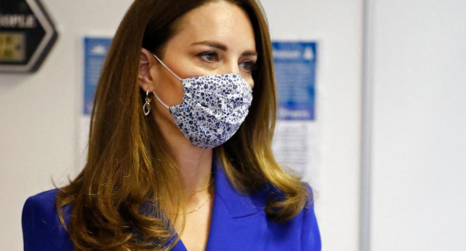 The Duchess of Cambridge joined Prince William in Scotland on Monday. (Getty Images)