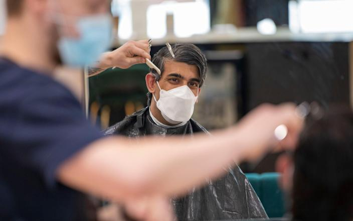 Rishi Sunak gets a trim  - Simon Walker HM Treasury