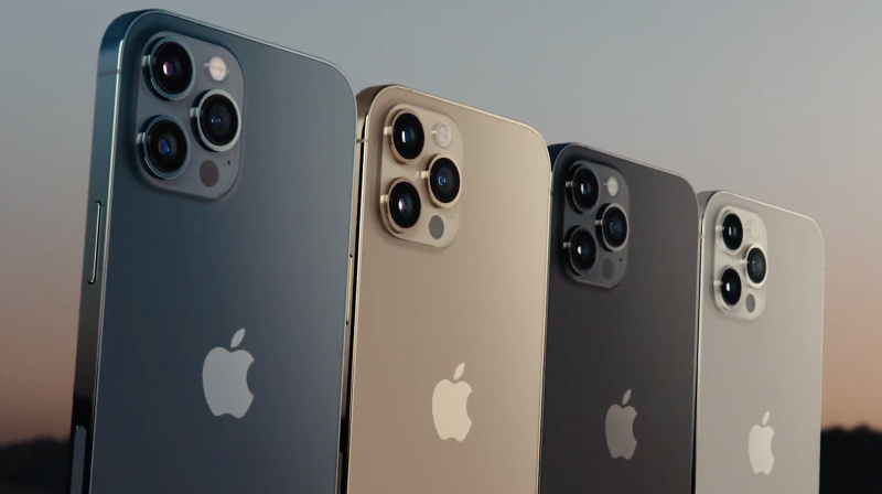 The iPhone 12 Pro lineup. (Image: Apple)