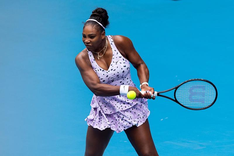 Australian Open Serena Williams Aces First Round After Air