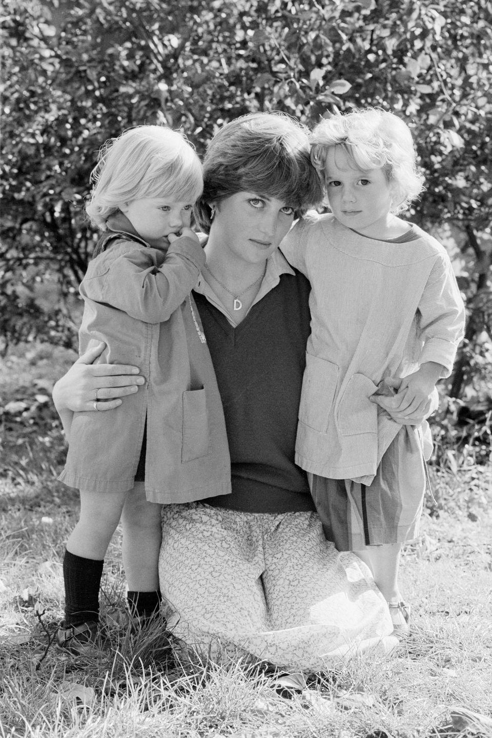 """<p>In 1980, the heir apparent started taking a serious interest in the 19-year-old as a potential bride. Diana was living in London at this point, intermittently working as a dance instructor, nanny and nursery assistant. Here she is at her job with Young England Kindergarten school in Pimlico<span class=""""redactor-invisible-space"""">.</span></p>"""