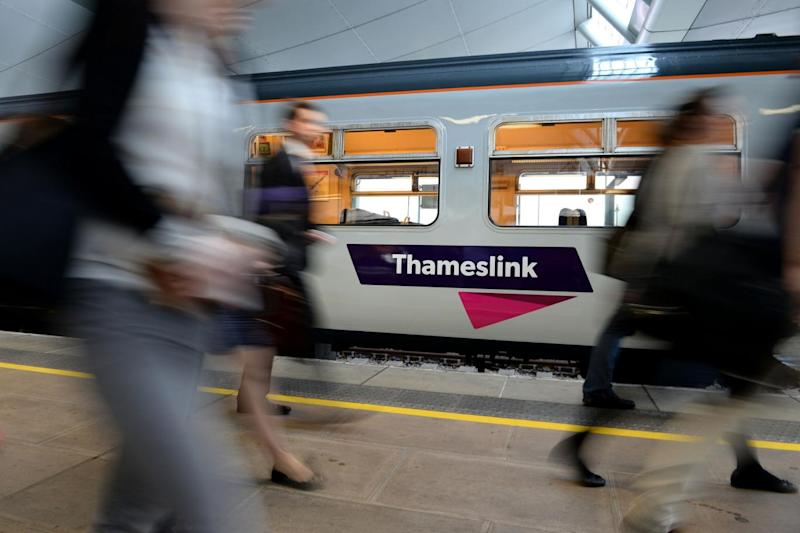 Departure times for every train run by Govia Thameslink Railway were changed in May (PA)