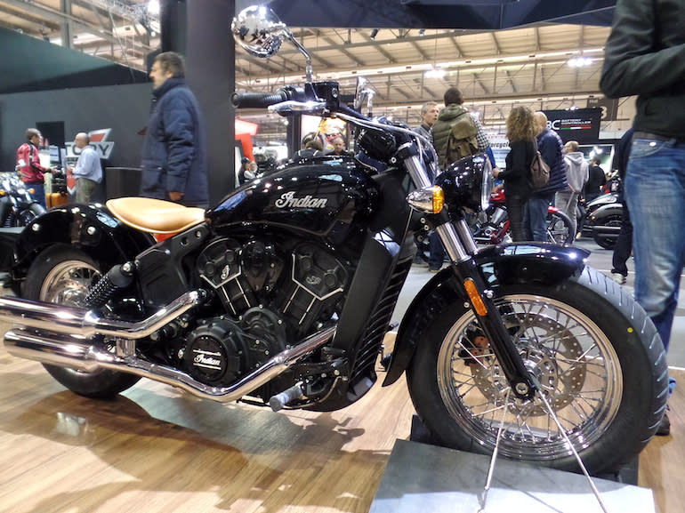 Indian Unveils New Scout Sixty EICMA 2015