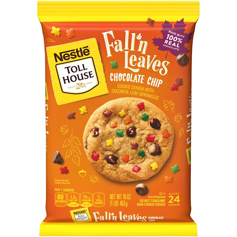 Nestlé's New Cookie Dough Comes With Seasonal Leaf Sprinkles, and We're FALLing in Love
