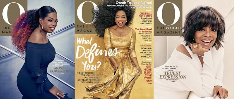 Check Out Oprah S 3 Amazing Hair Looks For O Magazine