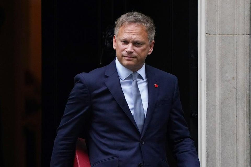 Transport Secretary Grant Shapps said the temporary visa offer would help keep Christmas 'on track' (PA)