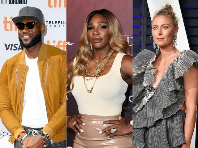 """Athletes including Serena Williams, Maria Sharapova and LeBron James have been featured in the fourth annual Sports Illustrated Fashionable 50 list.The list pays tribute to the most stylish athletes in sport, including stars at the top of their games in tennis, basketball, football, golf and more.This year's Fashionable 50 Sports Illustrated magazine cover has been graced by Williams, who just missed out on clinching her 24th Grand Slam title following her Wimbledon women's singles final loss to Simona Halep on Saturday.Williams has made a name for herself both on the court and the catwalk, having announced the launch of her first solo clothing line in May last year.The 37-year-old also frequently collaborates with high-profile fashion labels, having worn a custom-made Nike outfit designed by Virgil Abloh for this year's French Open.> View this post on Instagram> > @sportsillustrated Fashionable Fifty Issue. Photographed by @jefferysalter Styling by @jasonbolden Makeup by @paulinebriscoe Hair by @lorraine_dublin> > A post shared by Serena Williams (@serenawilliams) on Jul 19, 2019 at 6:00am PDTAlso on the list is celebrated professional basketball player LeBron James.While James' fans will be most used to seeing the athlete in his Los Angeles Lakers jersey, the athlete also knows how to work a cool, casual, off-court look.""""Dressing his 6'8"""", 250-pound frame is no small task, but King James has mastered game-day dressing with expert tailoring, cool accessorising and a polished mixing-and-matching of fabrics patterns and colours,"""" Sports Illustrated states with regards to the 34-year-old.> View this post on Instagram> > To Mars and Beyond!! 🚀> > A post shared by LeBron James (@kingjames) on Mar 22, 2019 at 6:36pm PDTFive-time Grand Slam winner Maria Sharapova also made the list, due to the """"elegant aesthetic"""" she regularly displays.On 24 February, the tennis player attended the Vanity Fair Oscars after-party in Beverly Hills, California.> View this post on Instagram> """