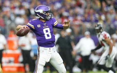 <span>Kirk Cousins only attempted 10 passes against the Falcons</span> <span>Credit: USA Today </span>