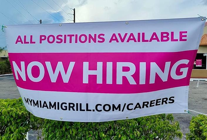 Miami Grill has seen a flood of teen applicants this summer for its vacancies.