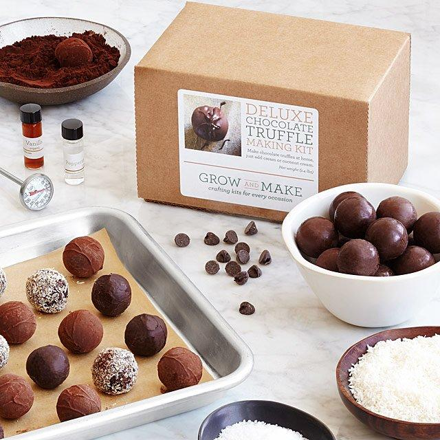 Make Your Own Chocolate Truffles Kit (Credit: Uncommon Goods)