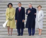 <p>Anything the Presidential family needs to move into the White House (office space, communication services, etc.), the government gets the bill for up to six months. The Obamas reportedly spent $9.3 million when they first took office.</p>