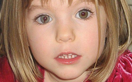 Madeleine McCann before she went missing a decade ago - PA