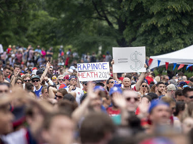 FIFA Women's World Cup 2019: From politicians to athletes, United States rejoices team's title win in France