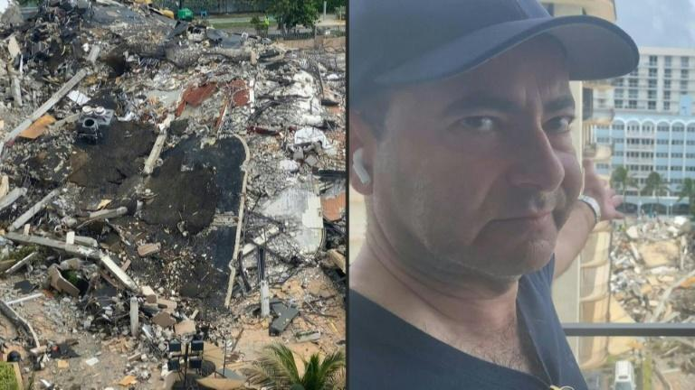Frustrated relative says rescue efforts at collapsed Florida building not enough