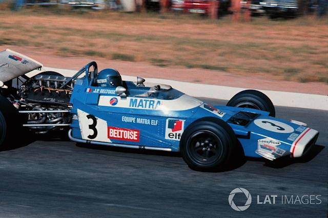 "Jean Pierre Beltoise, Matra MS120 <span class=""copyright"">Sutton Motorsport Images</span>"