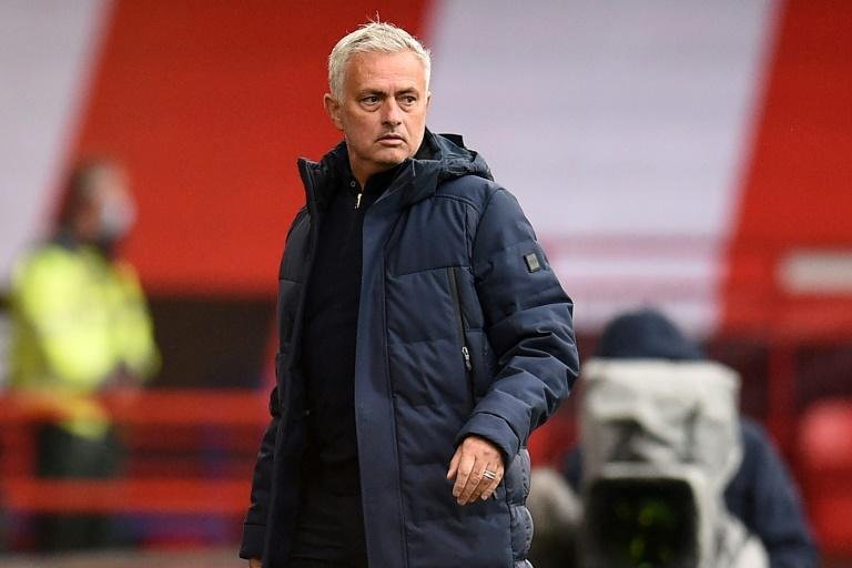 Tottenham manager Jose Mourinho was unhappy with his team's attitude against Sheffield United