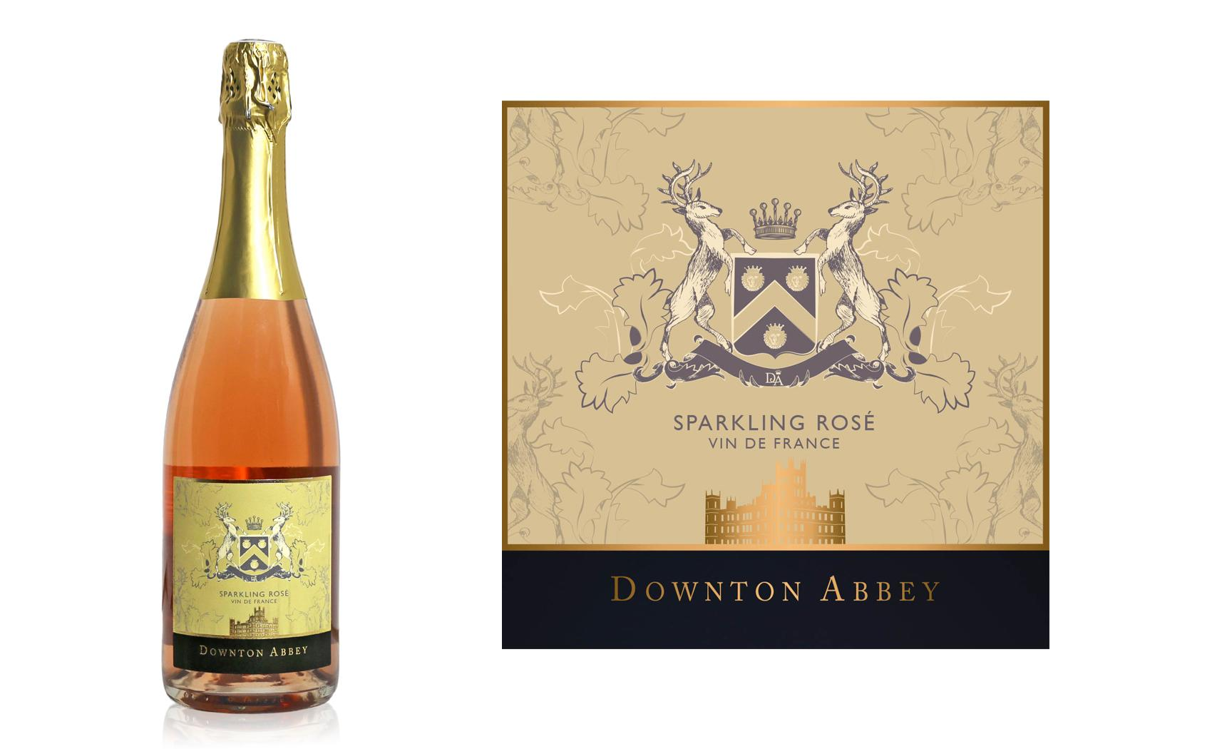 Downton Abbey Sparkling Rose, Val de Loire, France (Photo: Lot18.com)