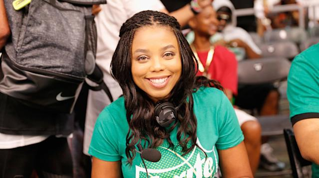 """Jemele Hill, the ESPN anchor who last month said President Donald Trump was a """"white supremacist"""" unfit to serve in the White House, has been suspended from ESPN for a """"second violation of our social media guidelines,"""" according to a statement the network released Monday."""