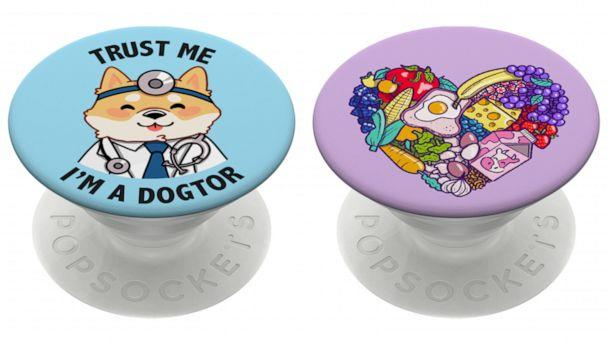 PHOTO: Dogtor and Open Your Heart PopGrip from PopSockets. (PopSockets)