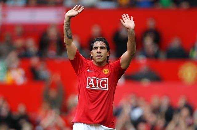 Carlos Tevez joined Manchester United from West Ham.