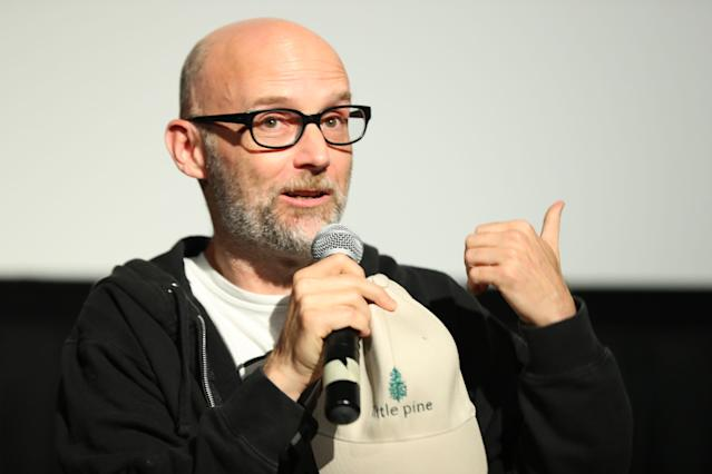Moby in June 2017. (Photo: Getty Images)