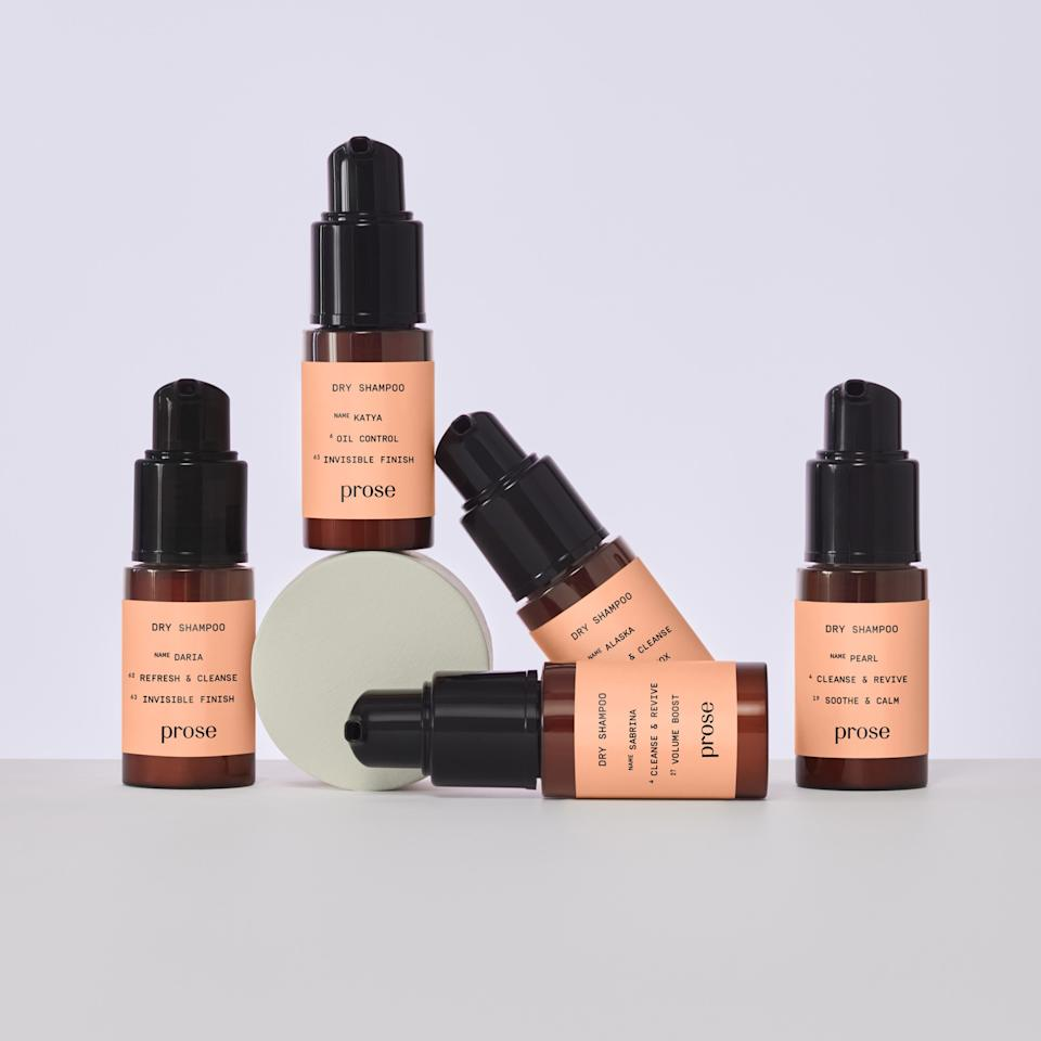 """<p>Finally, a dry shampoo made specifically with you in mind —seriously. Prose beauty's latest bespoke product is a translucent dry shampoo, customized to ensure you've got a happy scalp and hair. The brand whips up a batch of the powder based on an online consultation, featuring a series of questions about your hair, to create a unique formula you're going to use over and over again.</p> <p><strong>$25</strong> (<a href=""""https://shop-links.co/1687574867627623777"""" rel=""""nofollow"""">Shop Now</a>)</p>"""
