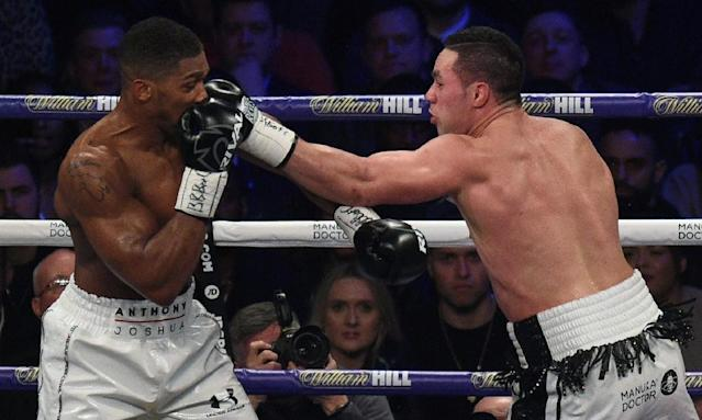 New Zealand's former heavyweight world champion Joseph Parker has opted for an ultra-tough comeback bout against the in-form tough as teak Englishman Dillian Whyte in London on July 28 (AFP Photo/Oli SCARFF )