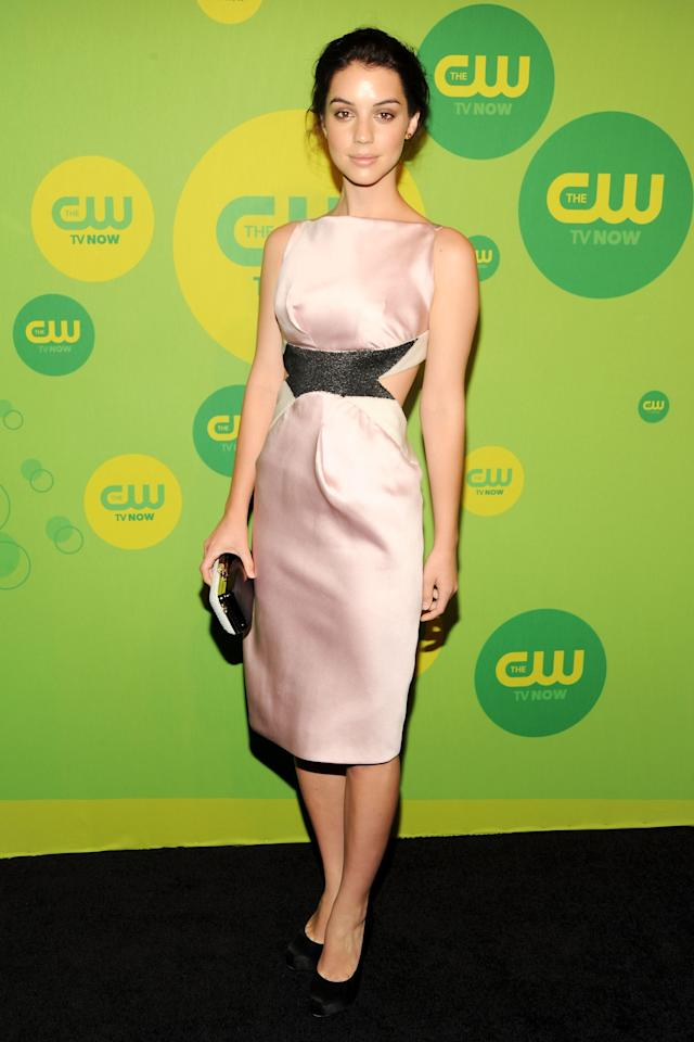 NEW YORK, NY - MAY 16:  Actress Adelaide Kane attends The CW Network's New York 2013 Upfront Presentation at The London Hotel on May 16, 2013 in New York City.  (Photo by Ben Gabbe/Getty Images)