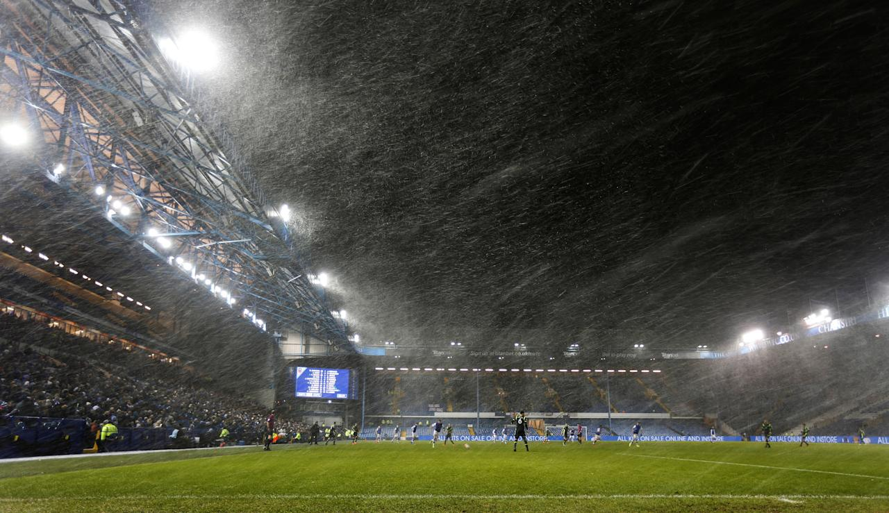 Soccer Football - FA Cup Third Round Replay - Sheffield Wednesday vs Carlisle United - Hillsborough, Sheffield, Britain - January 16, 2018   General view during the game     Action Images/Ed Sykes